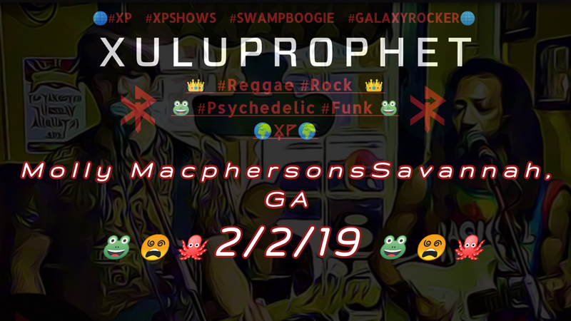 XP at Molly Macphersons 2/2/19 Savannah